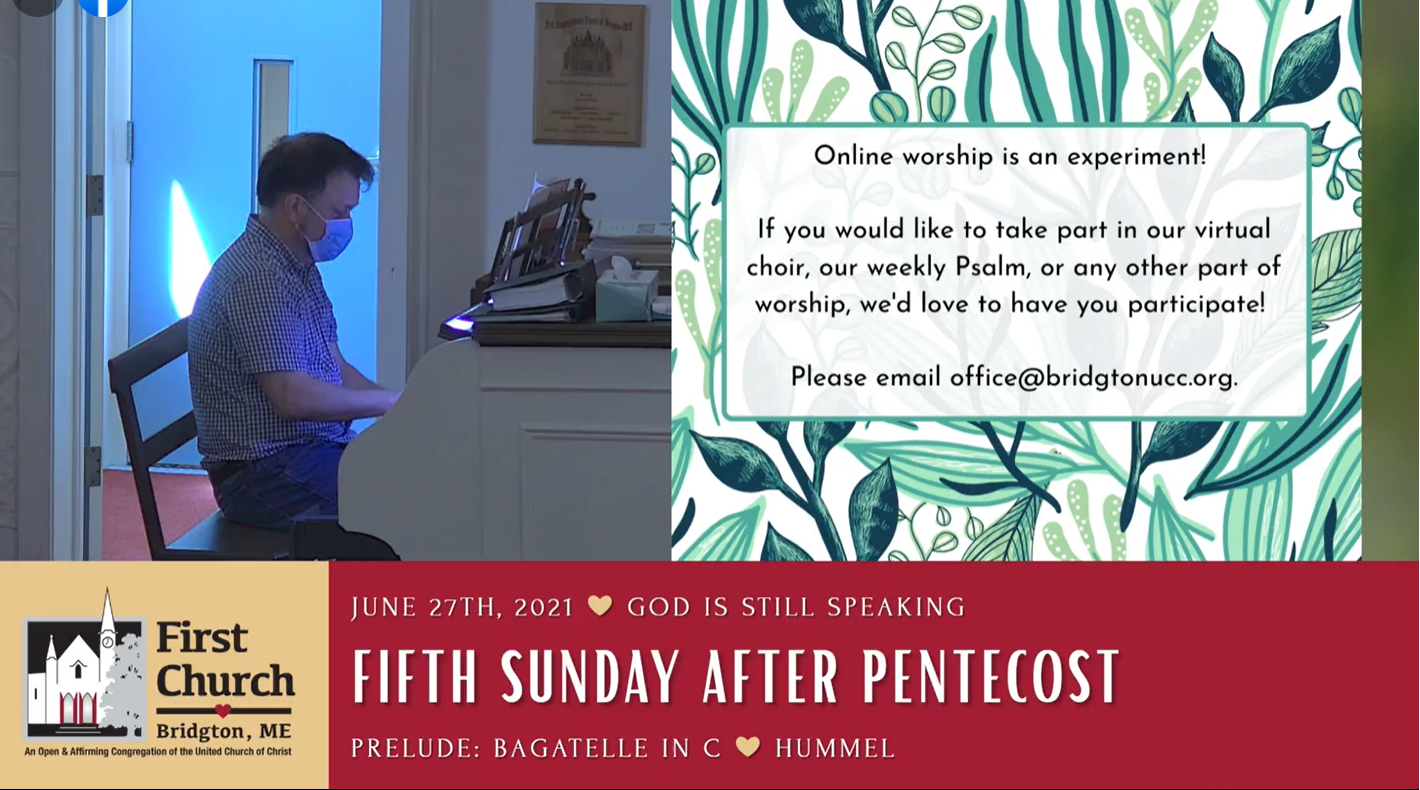 Click here to watch Sunday's Service!