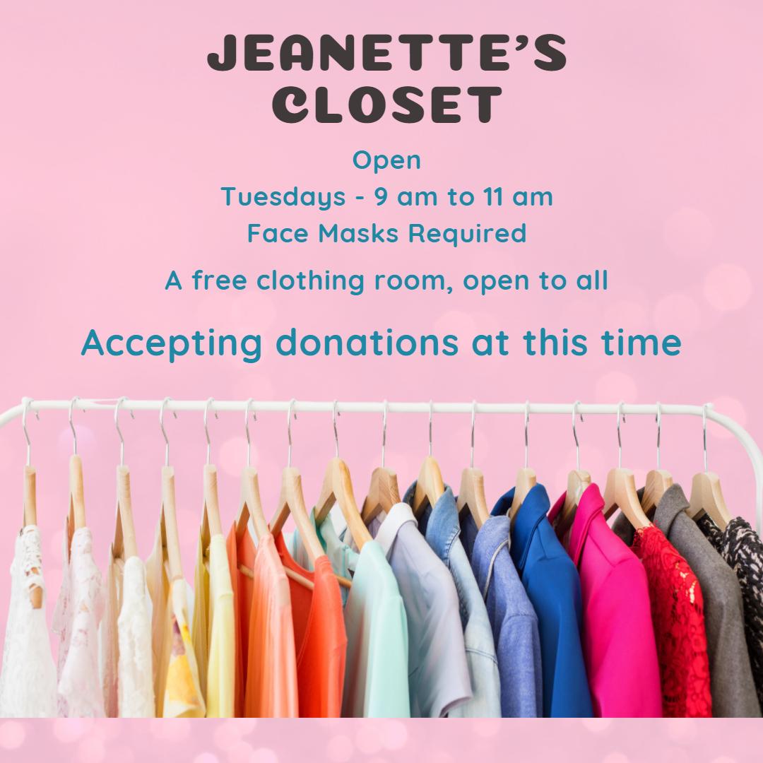 Jeanette's Closet